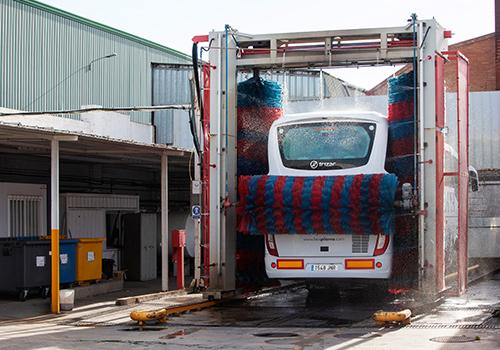 Tren de lavado